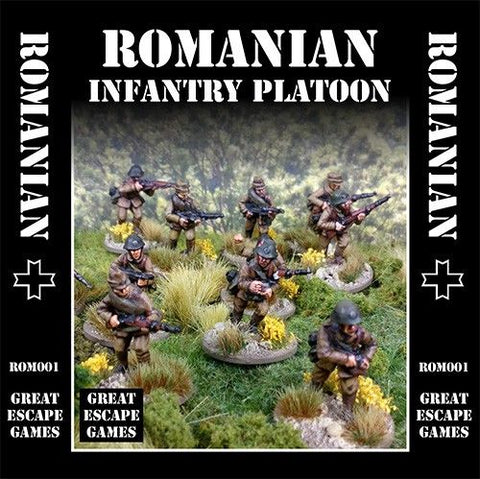 Romanian Platoon -  Summer Uniform