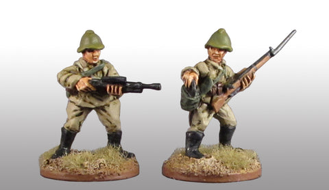 Game Miniatures - Soviet LMG team (2)