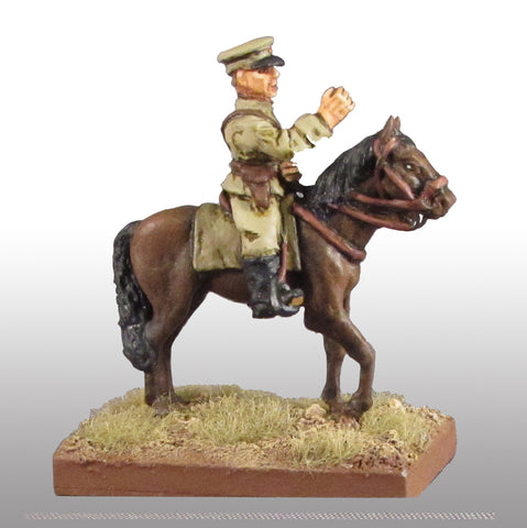 Game Miniatures - Soviet General Zurkov on Horse