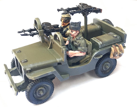 British-AFV Willy's Jeep SAS Europe includes crew & stowage