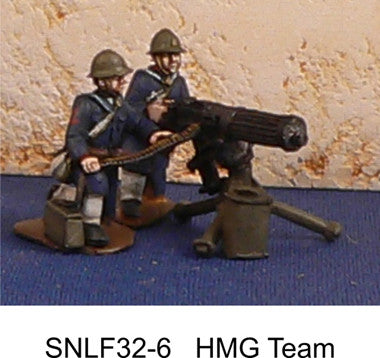 Game Miniatures SNLF 32 HMG Team