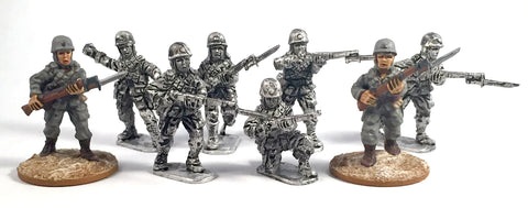 Game Miniatures - SNLF Para Rifles (8)
