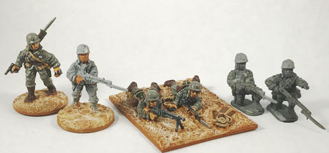 Game Miniatures - SNLF Para LMG (3 teams)