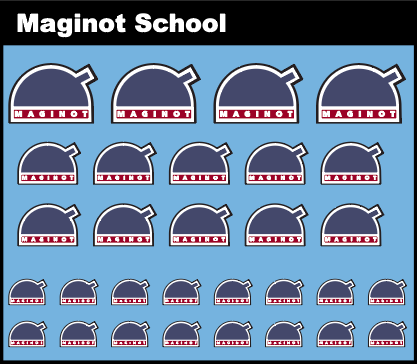 Pop Culture-Decal GuP Maginot School