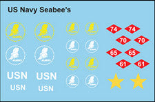 AFV-Decal US Seabees Vehicle