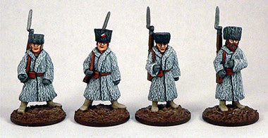 Game Miniatures - Czech Legion Train Sentries (4)