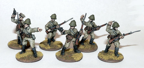 Game Miniatures - Soviet Cmd (6)