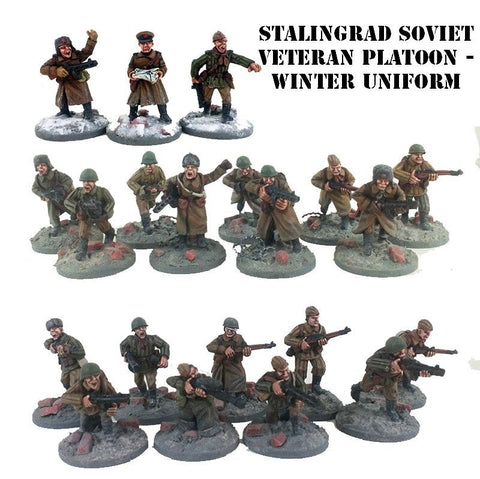 Soviet Platoon Stalingrad Winter Uniform (SOV101)