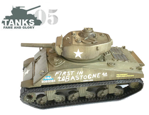 "US-AFV M4A3E2 Sherman Jumbo ""Cobra King - First in Bastogne"""