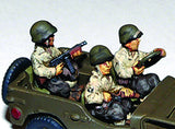 Miniatures US Army Jeep Crew Europe(3)