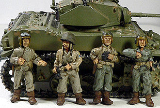 Miniatures US Army Tankers Dismounted (4)