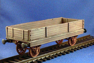 Trains - Unarmored Train Low Gondola