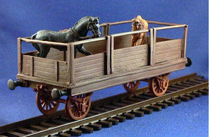 Trains - Unarmored Train Horse car
