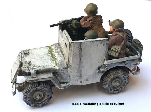 US-AFV Willy's Jeep Armored Recon