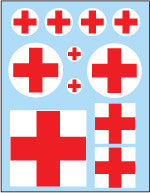 AFV-Decal Ambulance Crosses