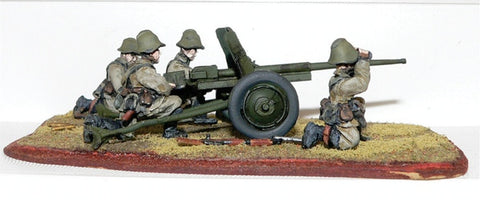 Game Miniatures - Soviet 45mm Anti-Tank Gun & Crew