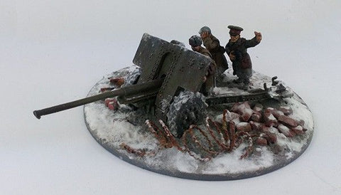 Soviet 76mm M1936 (F22) AT Gun & Crew Stalingrad Winter Uniform (SOV109)