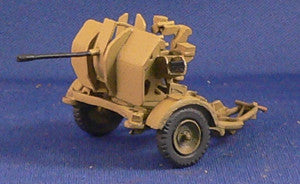 German-AFV 2cm flak 38 with trailer