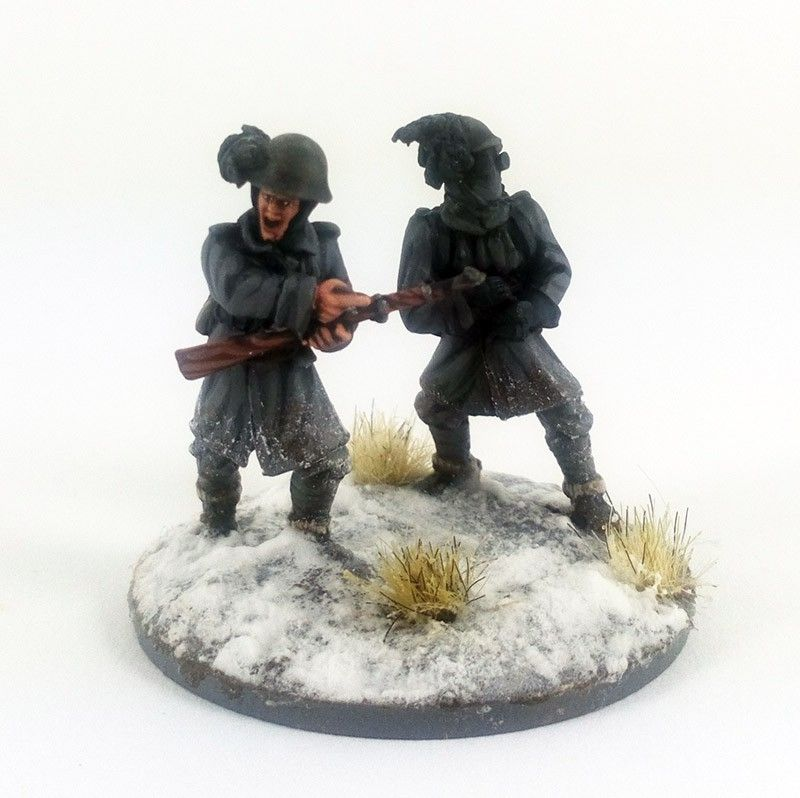Italian Bersaglieri Flamethrower Team – Winter (BER111)