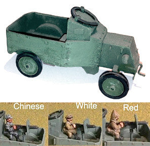 Russian-AFV Armored Model T Pickup includes mg crew (1)