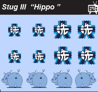 Pop Culture-Decal GuP Stug III Hippo