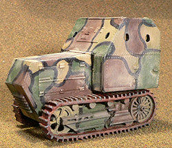Interwar-AFV Sutton Skunk, Armored Tractor