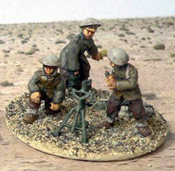 "Game Miniatures - Bardia 3"" Mortar Team"