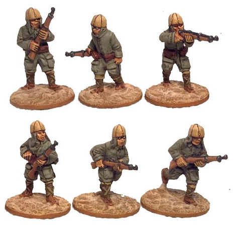 Game Miniatures - IJA Para Rifles (6)