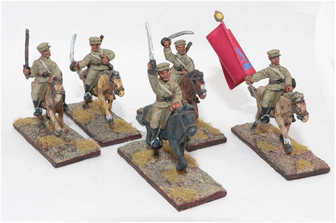 Game Miniatures - Mongolian Cavalry  (3)