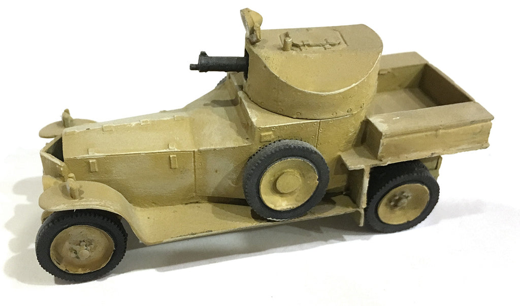 British-AFV Rolls Royce 1916 MK 1 solid wheels