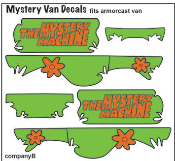 Pop Culture-Decal Scooby-Doo Armorcast Mystery Machine