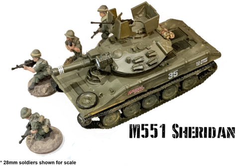 Cold War - M551 Sheridan