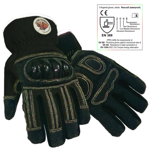 Rescue-X Extrication Waterproof Safety Gloves