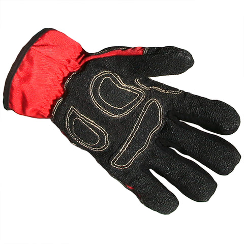 "Schmitz Mittz ""Ulta-Mittz"" Safety Gloves Hi-Viz Red-Palm"