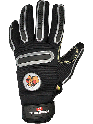 Black Knightz Super Duty Gun-Liner Safety Gloves