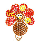 Turkey Time ID Badge Reel - SassyBadge