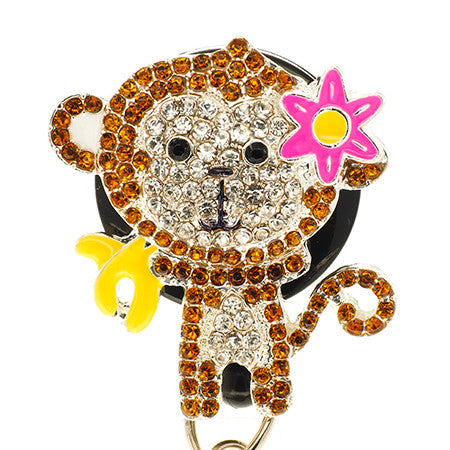 Monkey ID Badge Reel - SassyBadge
