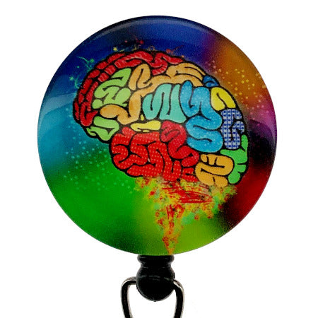 Whimsicals Brain ID Badge Reel