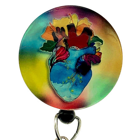 Whimsicals Heart ID Badge Reel