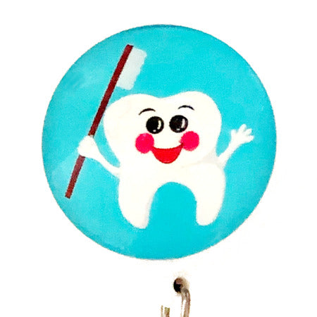Whimsicals Tooth ID Badge Reel