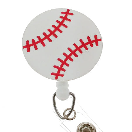 Baseball ID Badge Reel