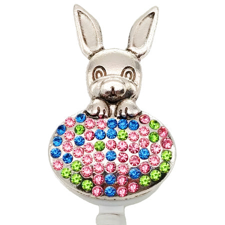 Easter Bunny ID Badge Reel - SassyBadge