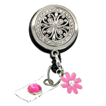 Essential Oil Diffuser Badge Reel - SassyBadge