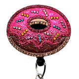 Donut ID Badge Reel