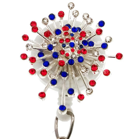 Fireworks ID Badge Reel