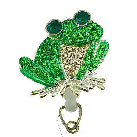 Frog ID Badge Reel - SassyBadge