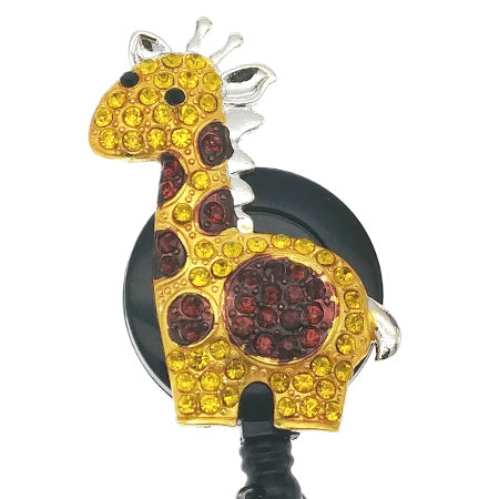Giraffe ID Badge Reel