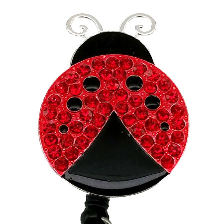Ladybug ID Badge Reel - SassyBadge