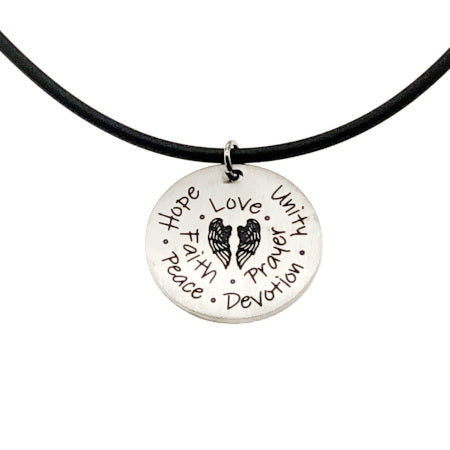 SassyTags Love Necklace