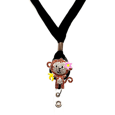 Monkey Lanyard - SassyBadge